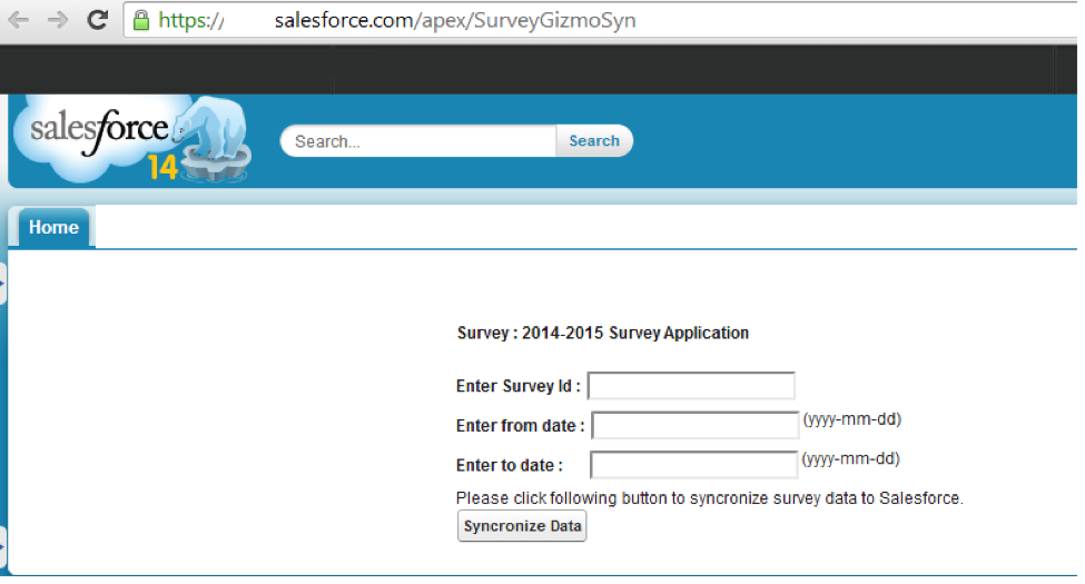 surveygizmo salesforce integration