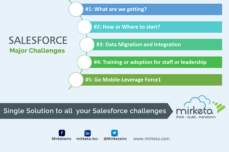 Mirketa Salesforce Major Challenges