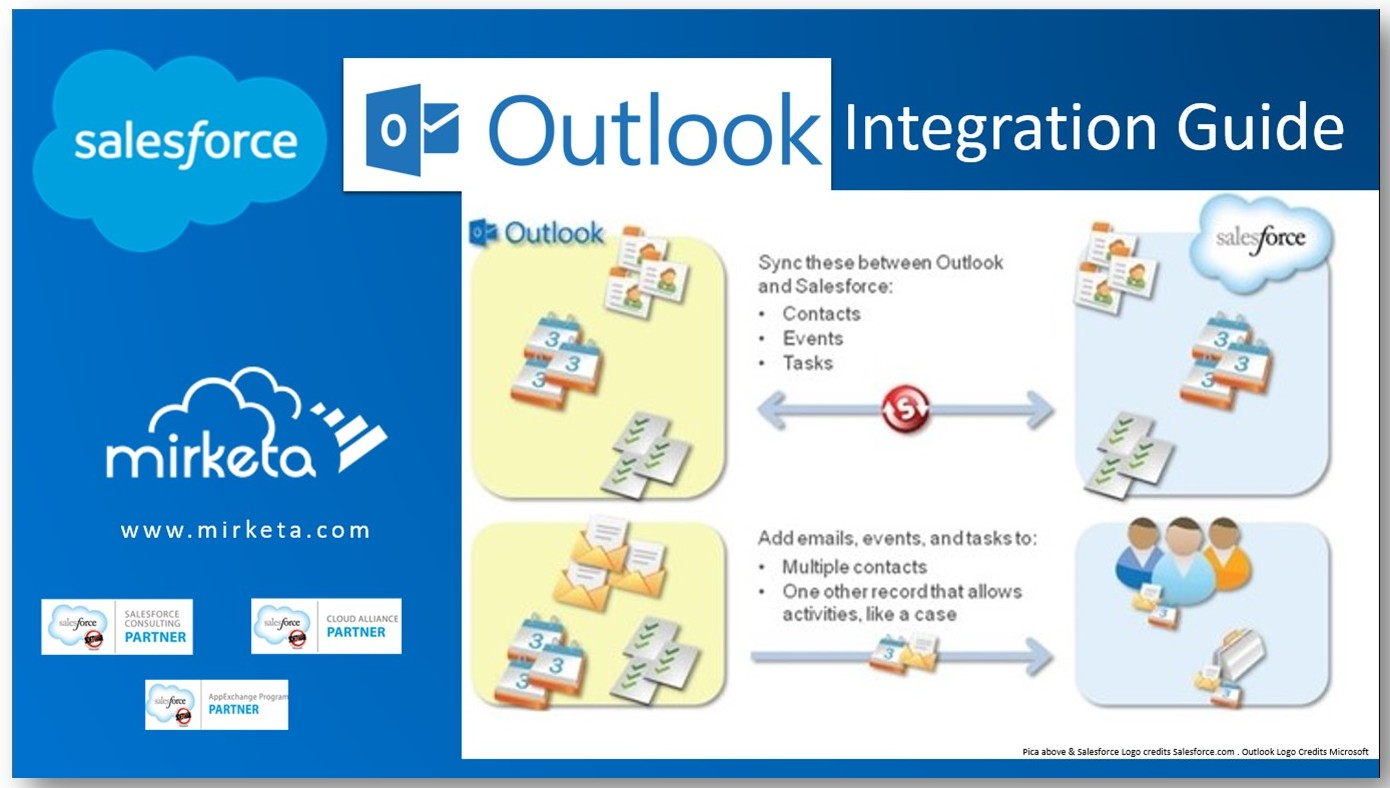 Salesforce for Outlook Integration