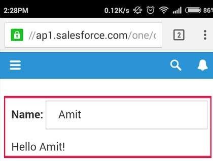 salesforce bootstrap