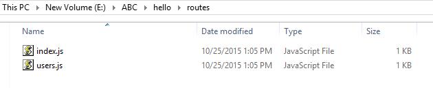 node js introduction
