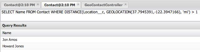 geolocation data type in salesforce