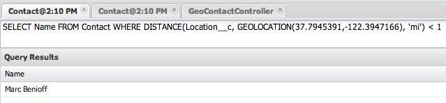 salesforce geolocation data