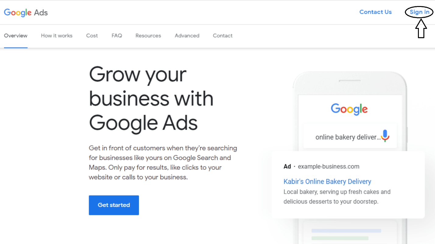 how to link salesforce to google ads