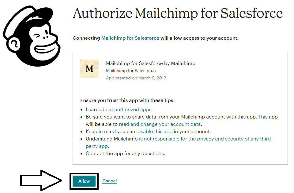 a complete guide to integrate salesforce with mailchimp