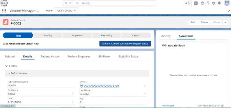 Introducing Salesforce Vaccine Cloud