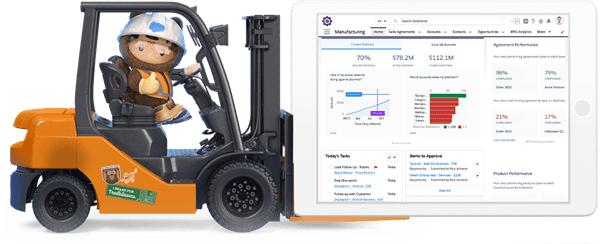 salesforce for manufacturing industry